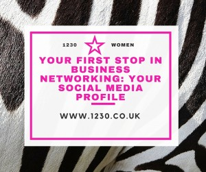 Your First Stop in Business Networking Your Social Media Profile